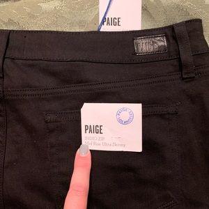 Paige denim black jeans